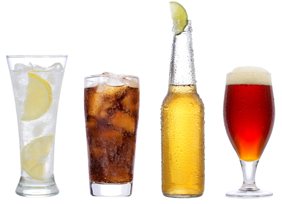 Mixed Beverage Background 02