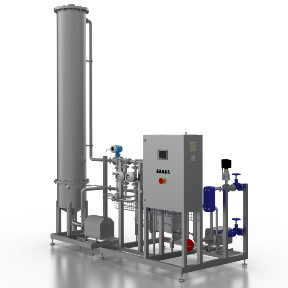 Hot Stripping Degassing 150dpi