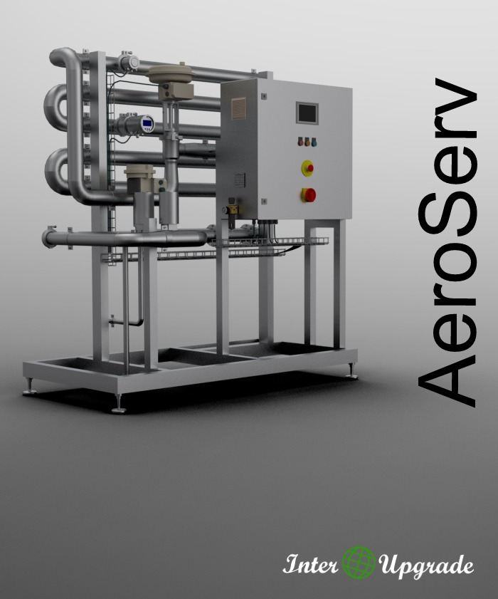 AeroServ - fully automatic aeration plant.