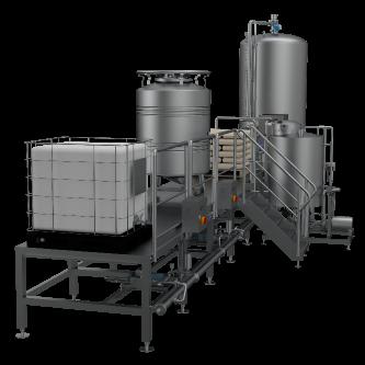 Mischgetränkeherstellung, inline (Mixer)
