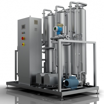 Water degassing systems